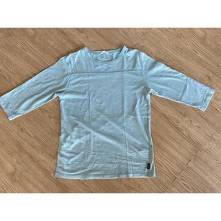 ゴーヘンプ(GO HEMP)のゴーヘンプ GO hemp フットボールT ライトグリーン(Tシャツ/カットソー(半袖/袖なし))