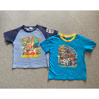 バンダイ(BANDAI)の仮面ライダー Tシャツ サイズ120(Tシャツ/カットソー)