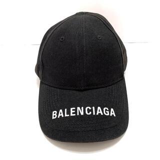 Balenciaga - バレンシアガ キャップ L - 黒×白