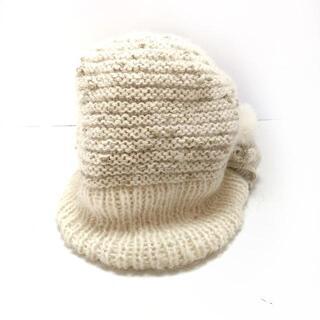 アンテプリマ(ANTEPRIMA)のANTEPRIMA(アンテプリマ) ニット帽 - ラメ(ニット帽/ビーニー)