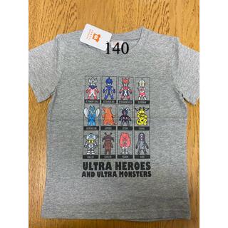 バンダイ(BANDAI)の140新品 /ウルトラマン/半袖  即購入okです♩  (Tシャツ/カットソー)