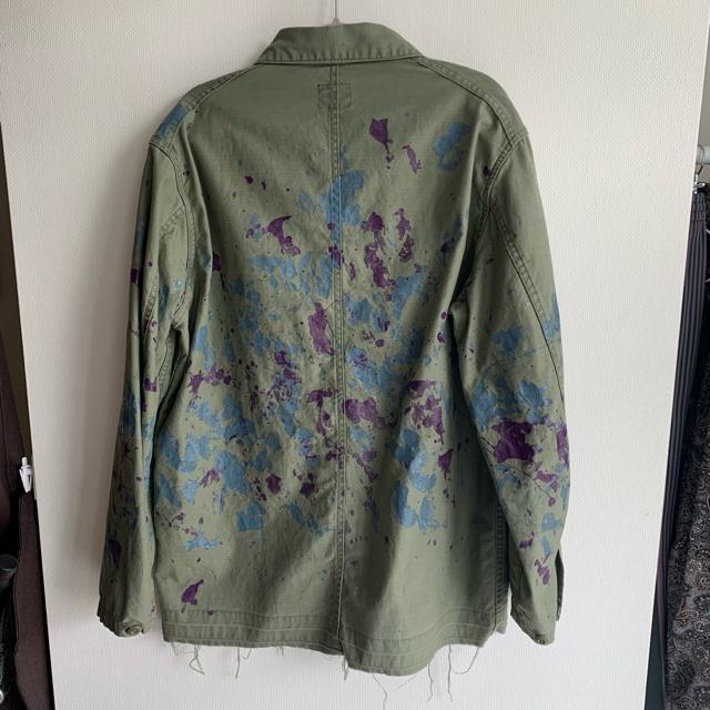 Needles(ニードルス)の20SS ニードルス D.N.COVERALL オリーブ M メンズのジャケット/アウター(カバーオール)の商品写真