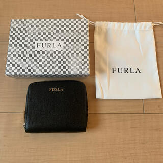 Furla - フルラ 二つ折り財布 黒