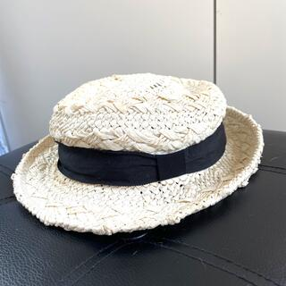 アメリヴィンテージ(Ameri VINTAGE)のAMERI 麦わら帽子(麦わら帽子/ストローハット)