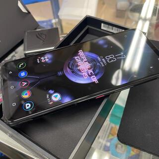 ASUS - 2-51070 中古品超美品 海外版SIMFREE ROG Phone 5 5G