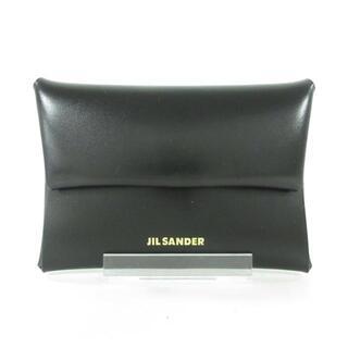 ジルサンダー(Jil Sander)のジルサンダー コインケース美品  黒 21SS(コインケース)