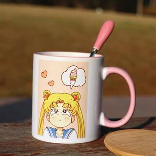 セーラームーン(セーラームーン)のセーラームーンマグカップ(グラス/カップ)