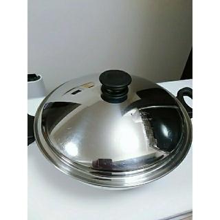 アムウェイ(Amway)の康康1126様専用 アムウェイ ウォックと大フライパン(鍋/フライパン)
