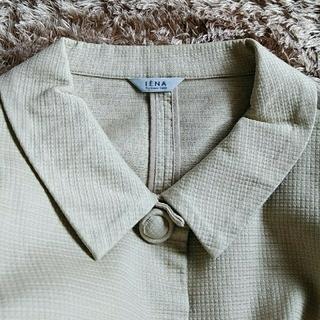 IENA - IENA 素材感のある ジャケット