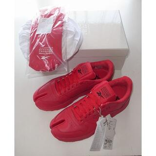 マルタンマルジェラ(Maison Martin Margiela)のReebok マルジェラ red PROJECT 0 CL tabi 足袋 42(スニーカー)
