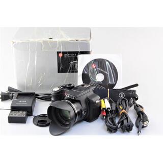 ライカ(LEICA)の美品 LEICA ライカ V-LUX 2 ブラック(コンパクトデジタルカメラ)