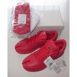 マルタンマルジェラ(Maison Martin Margiela)のReebok マルジェラ red PROJECT 0 CL tabi 足袋 43(スニーカー)