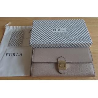 Furla - 【正規品・極美品】フルラ バイフォールド メトロポリス 長財布 ロングウォレット