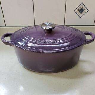 ルクルーゼ(LE CREUSET)の ル  クルーゼ ココット オーバル25cm(鍋/フライパン)