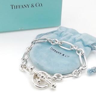 ティファニー(Tiffany & Co.)の極希少 美品 ヴィンテージ ティファニー トグル ブレスレット UZ12(ブレスレット/バングル)