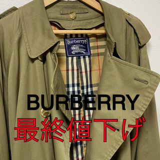 バーバリー(BURBERRY)のBURBERRY コート(トレンチコート)