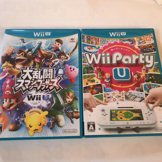 Wii U - wiiu 大乱闘スマッシュブラザーズ wii  Party U
