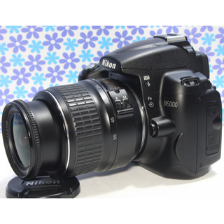 Nikon - おすすめ一眼レフ❤️Nikon D5000❤️動画撮影❤️手振れ補正❤️極美品
