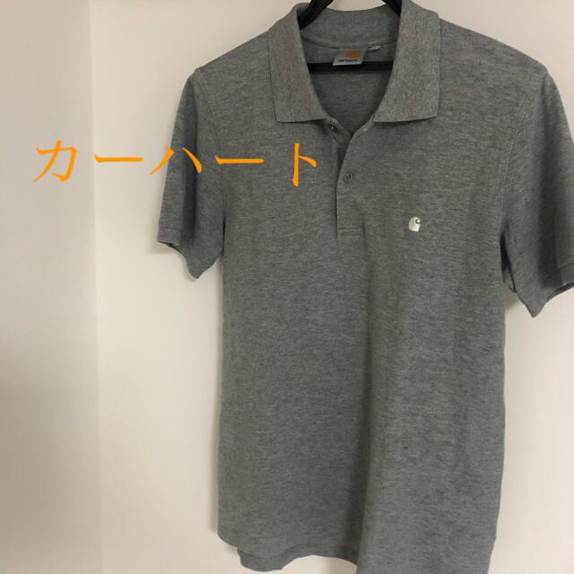 carhartt(カーハート)の美品!カーハート ポロシャツ シルバー刺繍 レア物 メンズのトップス(ポロシャツ)の商品写真