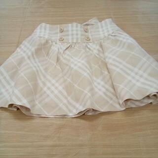 バーバリー(BURBERRY)のバーバリー 110cm チェック スカート 02MN06091428(スカート)
