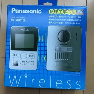 Panasonic - パナソニック Panasonic VL-SGD10L ワイヤレステレビドアホン
