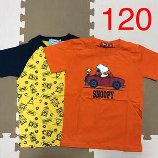 SNOOPY - NO.947 トーマス スヌーピー 半袖 Tシャツ 男の子 120 まとめ売り