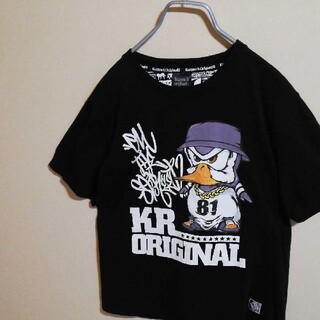 カズロックオリジナル(KAZZROCK ORIGINAL)のkazzrock original  T シャツ LL サイズ 黒(Tシャツ/カットソー(半袖/袖なし))