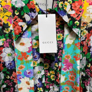グッチ(Gucci)のGucci フラワーシャツ新品未使用ジードラゴン着用(シャツ/ブラウス(長袖/七分))