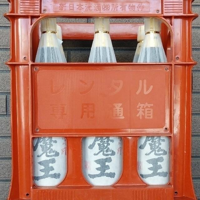 魔王 1800:ml 6本入り 1ケース  食品/飲料/酒の酒(焼酎)の商品写真
