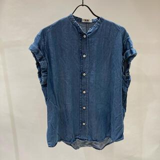 アクネ(ACNE)のAcne アクネ テンセルデニムフレンチスリーブシャツ(シャツ/ブラウス(半袖/袖なし))