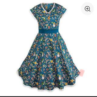 ディズニー(Disney)の【新品未使用タグ付き】WDW Dress Shop ドレス ショップ ディズニー(ひざ丈ワンピース)