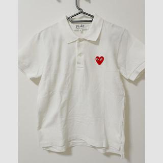 コムデギャルソン(COMME des GARCONS)のコムデギャルソンプレイ ポロシャツ M(ポロシャツ)