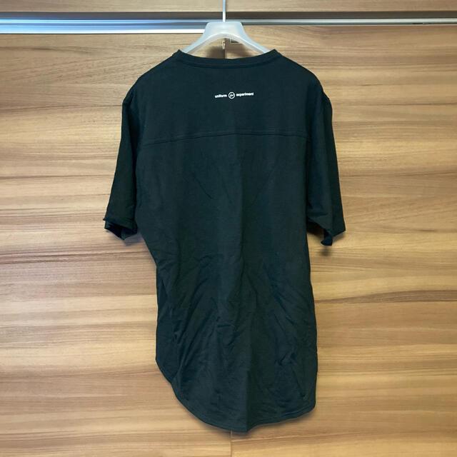 uniform experiment(ユニフォームエクスペリメント)のuniform experiment CUT&SEWN メンズのトップス(Tシャツ/カットソー(半袖/袖なし))の商品写真