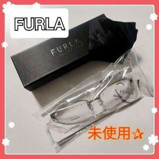 Furla - フルラ FURLA メガネ フレーム  シルバー VFU123J 0584