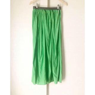Plage - 美品 plageのマキシスカート フレアロングスカート  プラージュ