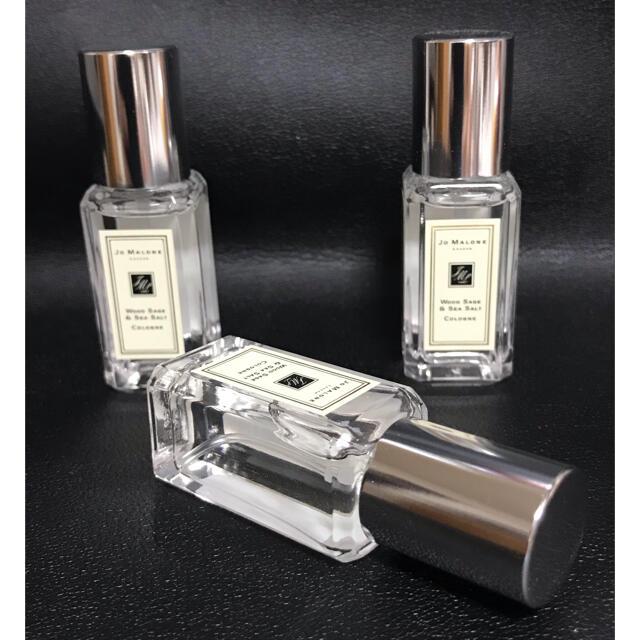 Jo Malone(ジョーマローン)のジョーマローン ウッドセージ&シーソルト コロン 9mL 3個セット コスメ/美容の香水(ユニセックス)の商品写真