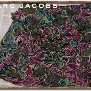 マークジェイコブス(MARC JACOBS)のマークジェイコブス 2枚重ねシルクシフォンスカート(ミニスカート)