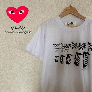 COMME des GARCONS - コムデギャルソン×MAGAZINE ALIVE  コラボ Tシャツ レア 美品