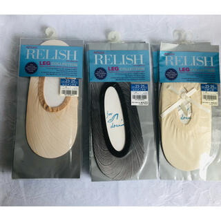 Atsugi - ATSUGI RELISH  ソックス サイズ23〜25㎝ 10枚セット 新品