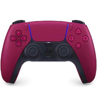プレイステーション(PlayStation)の新品未開封! DualSense ワイヤレスコントローラー コズミック レッド(家庭用ゲーム機本体)