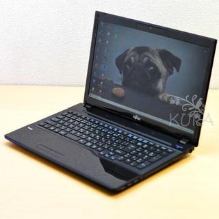 富士通 - i7-3630QM /高速SSD 480GB /RAM 8GB /ノートPC
