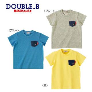 ダブルビー(DOUBLE.B)のDOUBLE B mikihouse Tシャツ グレー 80サイズ(Tシャツ)