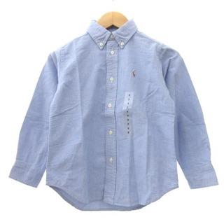 ラルフローレン(Ralph Lauren)のラルフローレン シャツ BD ワンポイント 水色 5 115cm 子供服 キッズ(その他)