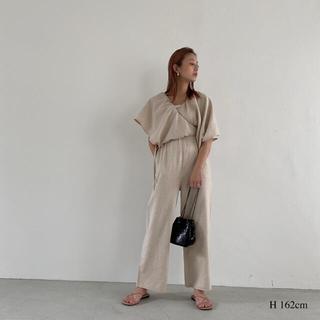 トゥデイフル(TODAYFUL)のwillfully  2way linen elaborate SK/OL(ロングスカート)