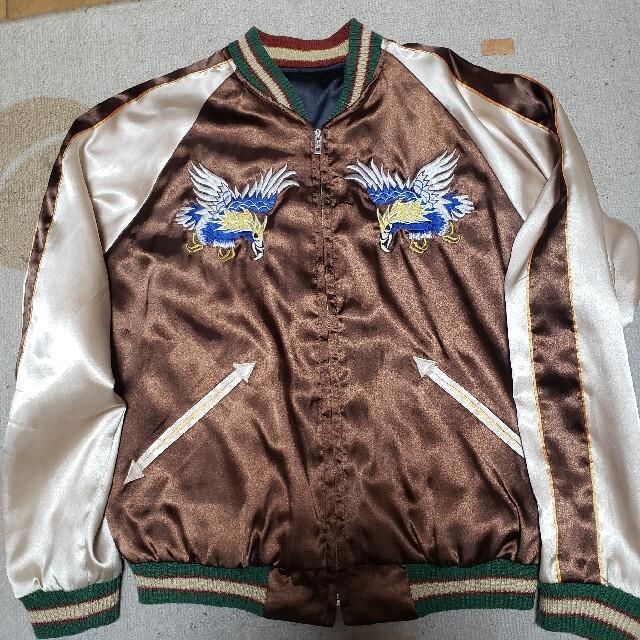 東洋エンタープライズ(トウヨウエンタープライズ)のテーラー TAILOR 東洋エンタープライズ TOYO リバーシブル スカジャン メンズのジャケット/アウター(スカジャン)の商品写真