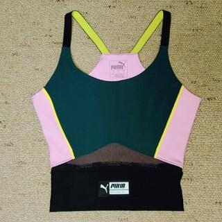プーマ(PUMA)の新品未使用プーマpumaロゴタンクキャミtシャツレギンスayaトップスグッチ(ヨガ)