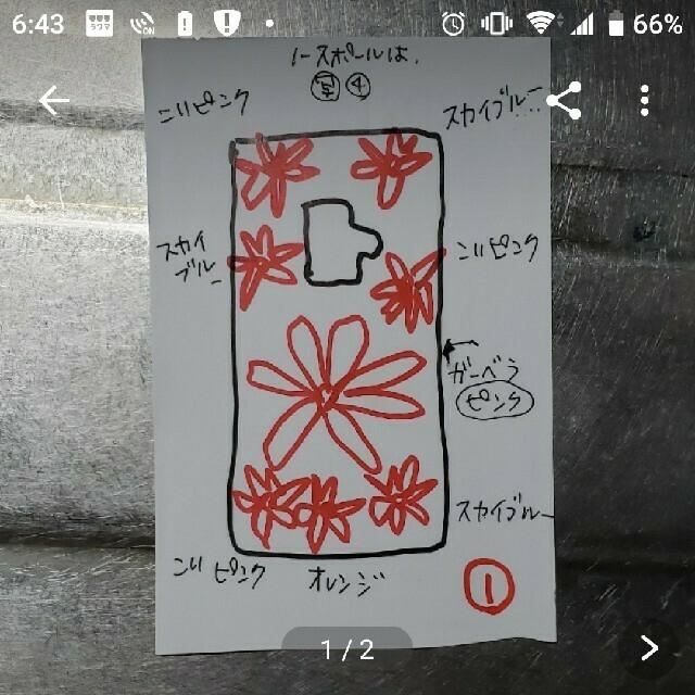 mami★様専用ページ★押し花ケース ハンドメイドのスマホケース/アクセサリー(スマホケース)の商品写真