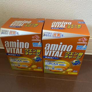アジノモト(味の素)のお値下げ不可 新品 アミノバイタル クエン酸チャージ 2箱(アミノ酸)