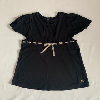 バーバリー(BURBERRY)のBurberry バーバリー 140cm リボン付きキッズTEE(Tシャツ/カットソー)