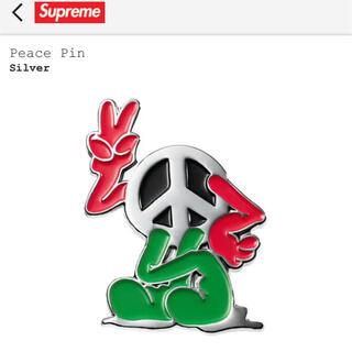 シュプリーム(Supreme)のsupreme peace pin ピンズ 21SS(その他)
